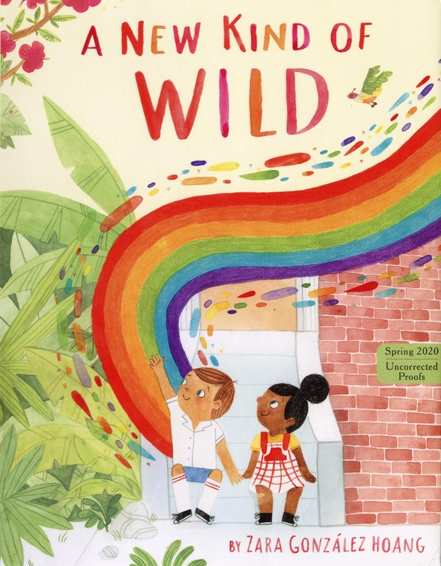 Cover image of A NEW KIND OF WILD by Zara Gonzalez Hoang